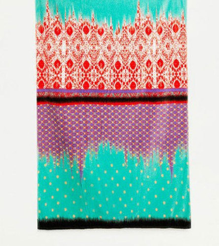Multi Color Rectangular Beach Towel
