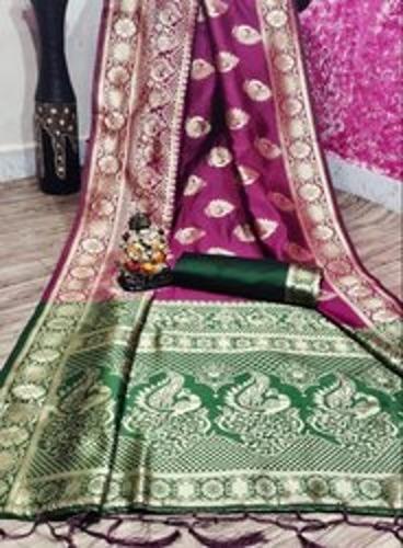 Attractive Design Ladies Silk Saree