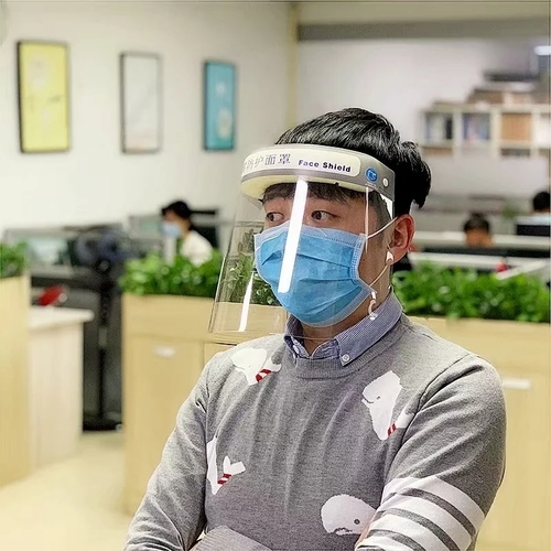Face Shield To Protective Virus
