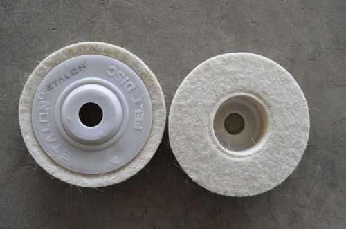 Manual Felt Disc Polishing Wheel
