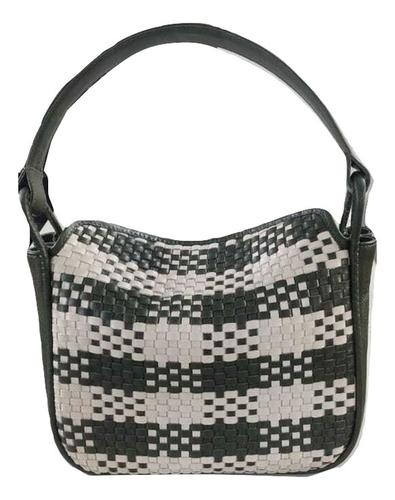 Weaved Leather Handbag