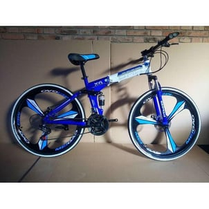 21 Gears Disc Brake Foldable Cycle