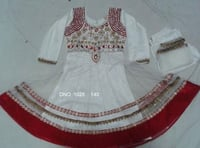 Cotton Anarkali Designer Kids Wear Dress