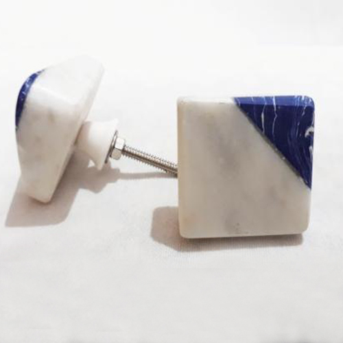 Unique Shape And Pattern Marble Knobs