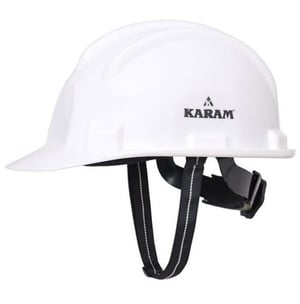 White Color HDPE Safety Helmet