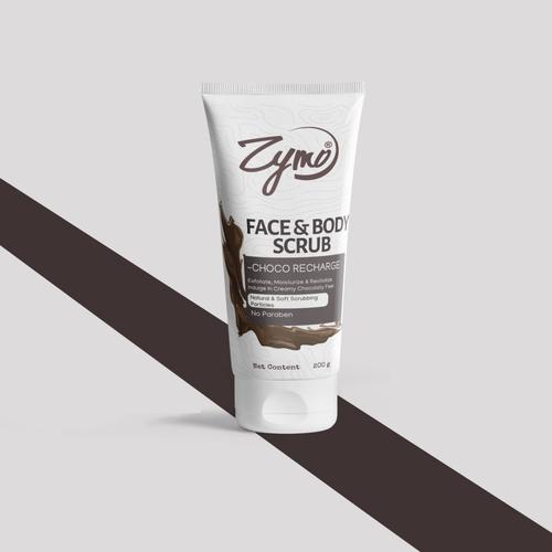 Zymo Face And Body Scrub - Choco Recharge