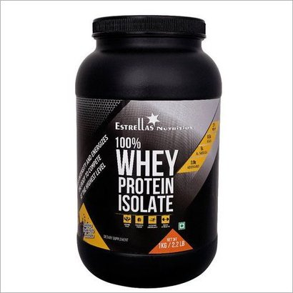 100% Whey Protein Isolate Dosage Form: Powder
