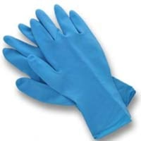 Sky Blue Color Surgical Hand Gloves