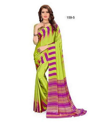 Multicolor Ladies Fancy Designer Saree