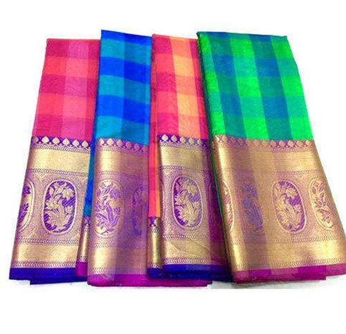 Multicolor Ladies Indian Designer Saree
