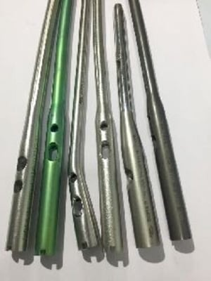 Stainless Steel and Titanium Intramedullary Nails