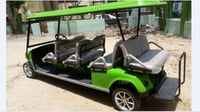 8 Seater Battery Operated Golf Cart Vehicle