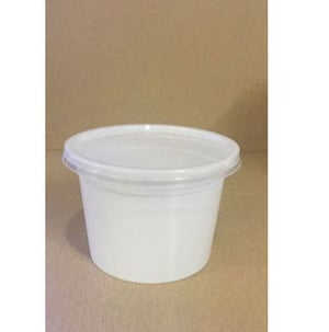 Light Weight Circular Food Containers