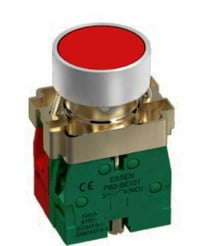 Red Push Button Plastic Switch