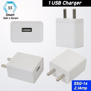 USB Mobile Phone Charger Adapter