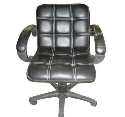 Easy To Clean Black Color Office Chair