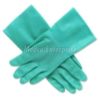 Disposable Light Green Surgical Gloves