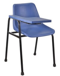 Chair With Writing Plastic Arm
