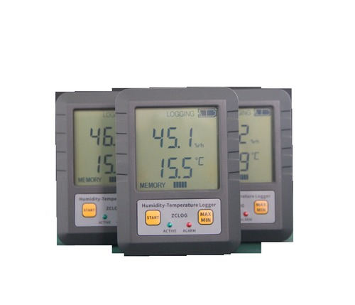 Temperature And Humidity Recording Meter