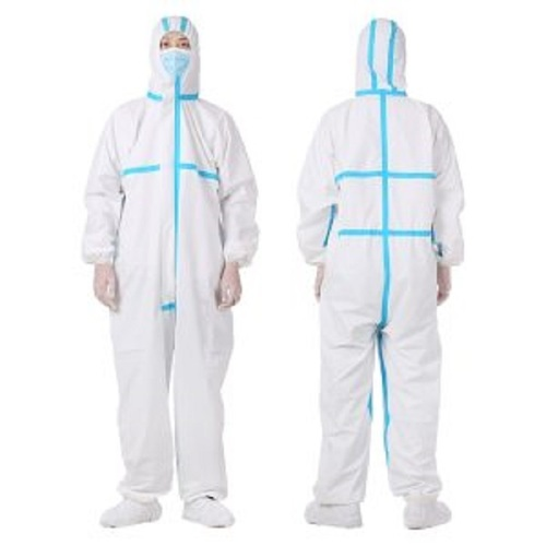 Isolation Gown Combination Virus Coverall Protective Clothing Anti-Epidemic Antibacterial