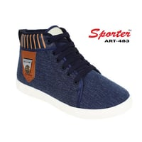 Mens Blue-483 Sneaker Casual Shoes