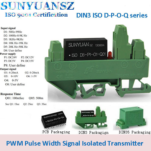 Pwm Pulse Width Signal Da Conversion Isolation Transmitter