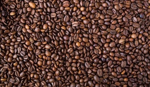 Brown Color Coffee Beans