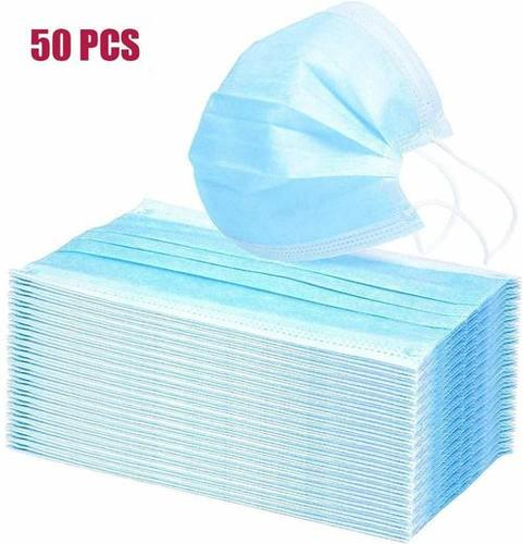 Non Woven Breathing Protection Anti Virus 3 Ply Disposable Face Mask