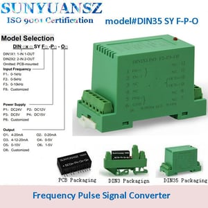 FV/FI Frequency Signal to 4-20mA,0-20mA,0-5mA DC Current/Voltage Converter