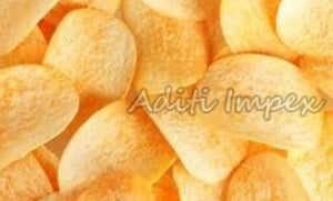 Healthy Baked Potato Chips