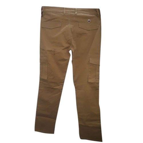 Multi Color Mens Cotton Casual Cargo Pants
