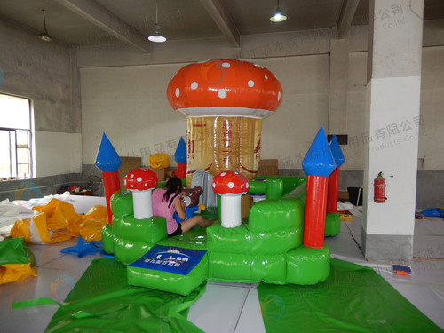 Children Inflatable Slides Amusement Games Certifications: Ce