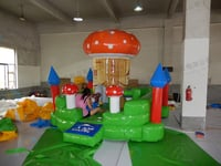 Children Inflatable Slides Amusement Games