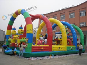 Colorful Children Jumping Bouncer