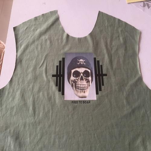 Fashionable Men's Sleeveless T-Shirt
