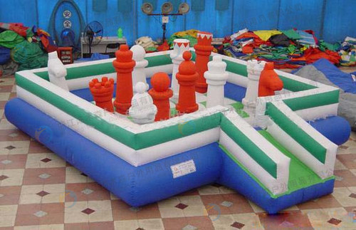 Multi Color Inflatable Park Area Required: 30 Square Meter (M2)