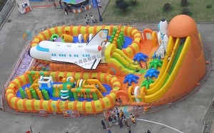 Multi Color Jumping Park