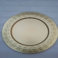 Decorative Round Metal Plate