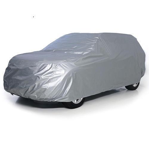 Grey Color Nylon Car Cover Vehicle Type: Four Wheeler