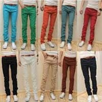 Mens Skinny Fit Chinos