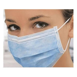 3 Ply Face Mask With Elastic Ear Loop