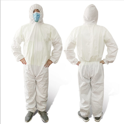 Disposable white Color Coverall