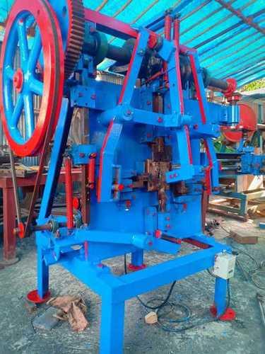 Blue Semi Automatic Wire Forming Machine