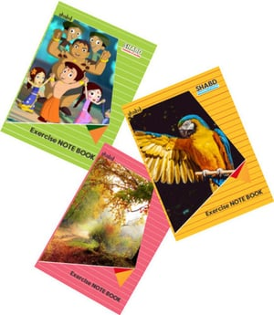 Student Notebooks With Soft Cover