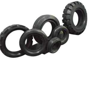 Black Color Cushion Tyres