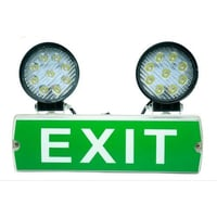 Fire Exit Cool White Emergency Lights