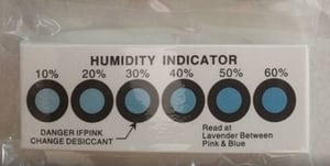 Industrial Humidity Indicator Card