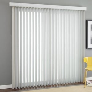 White Color Vertical Window Blind