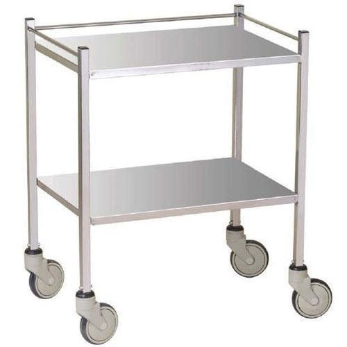 Durable Rectangular Instrument Trolley