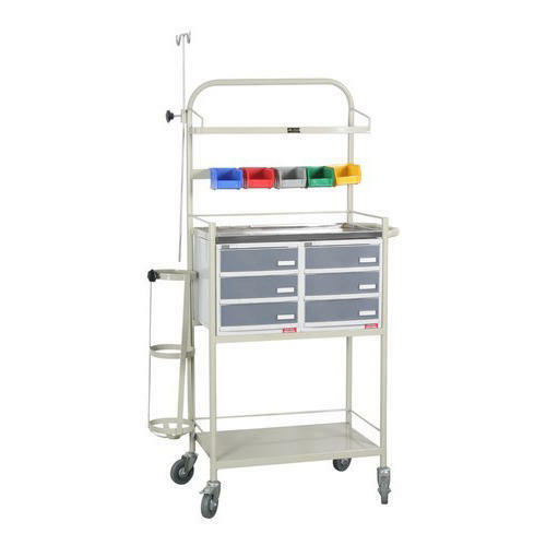 Icu Trolley With Wheel
